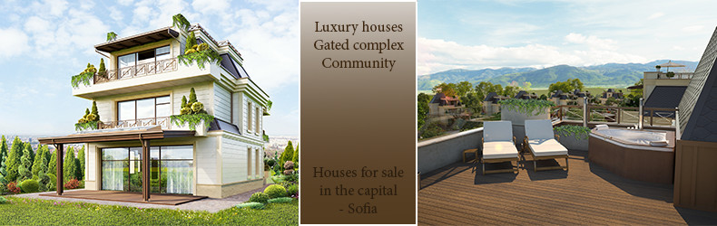 Luxury houses for sale in Sofia